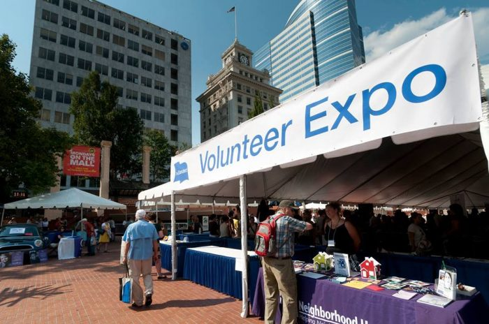 Volunteer Expo-Portland, OR